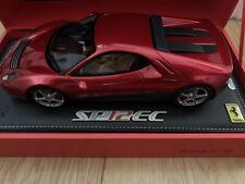 BBR Ferrari 1:18 SP12 EC 2012 Eric Clapton (metallic red/grey) limited 300pcs.