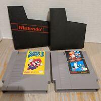 Super Mario Bros. 3 & Mario Bros. Duck Hunt - Nintendo NES Lot of 2 Games