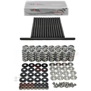 "Brian Tooley Racing .660"" Platinum Dual Valve Springs Kit & 7.400"" Pushrods Set"