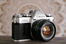 Canon AE-1 35mm Film Camera, FD 50mm f1.8 Lens, GUARANTEED, RA150, A1 F1