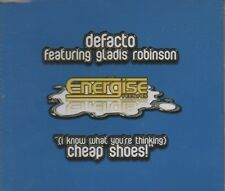 DEFACTO feat GLADIS ROBINSON  Cheap Shoes  5 TRACK CD   NEW -  NOT SEALED