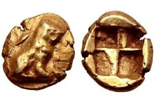 Asia Minor, Ionia, electrum Hekte. Extremely Rare Only 3 Known