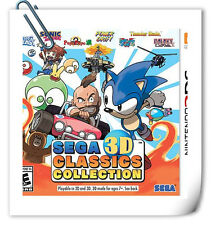 3DS Nintendo Sega 3D Classics Collection SEGA Misc Games