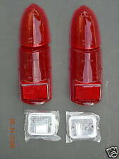 MG MGB MIDGET REAR STOP TAIL LAMP LIGHT LENS KIT 62 -69 LUCAS SET