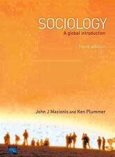 Sociology: A Global Introduction, Plummer, Prof Ken, Macionis, John J., Very Goo