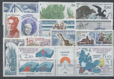TAAF - ANNEE COMPLETE 1988 - TIMBRES NEUFS LUXE **