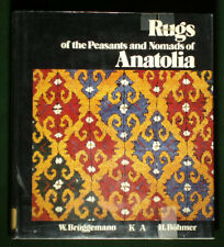 BOOK Anatolian Nomad Rug Weaving tribal Turkish pile peasant carpet Oriental art