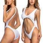 Sexy Women Ladies One Piece Bikini Monokini Push Up Padded Swimwear Swimsuit FO