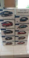 11 DEPT 56 SNOW VILLAGE CLASSIC CARS Impala lot Cadillac Corvette Mustang & more