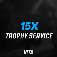 (VITA GAMES) Playstation PSN PS Vita Trophy Service - 15 PLATINUM GAMES
