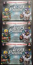 3x NFL Topps Prime Football 2013 trading card box seald/embalaje original