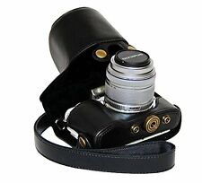 custodia in pelle PU Borsa Per Olympus Pen E-PL7 E-PL8 with 14-42mm Lens