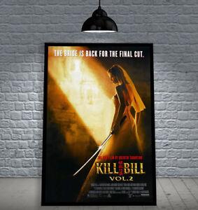 KILL BILL: VOL. 2 2004 TARANTINO FRAMED MOVIE POSTER PRINT CINEMA A1 & 60X40CM