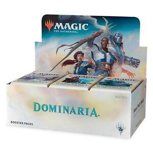 MTG DOMINARIA Booster Display Box MTG Factory Sealed English Magic the Gathering