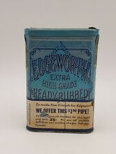 Vintage Pipe Tobacco Collectable Tin Edgeworth Extra High Grade Ready Rubbed