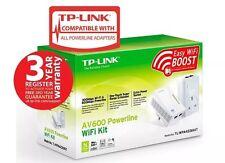 TP-LINK TL-WPA4226KIT V1.2 300Mbps AV600 Wireless Powerline Adapter Kit
