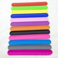 6PCS Colorful Slap Bracelets Assorted Slap Wrap Wrist Bands Kids Party Toy JH