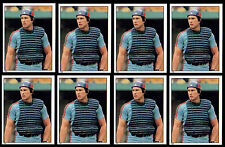 (8) GARY CARTER 1981 TOPPS STICKERS # 184-HALL OF FAME-MONTREAL EXPOS CATCHER