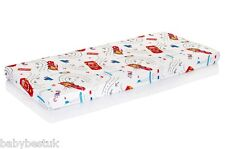 New Disney Baby Cot Fitted Sheet - 120x60cm - Pixar Cars - 100% cotton