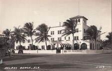 Postcard RPPC Delray Beach FL Florida