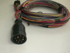 Mercury Omc Engine To Dash 9 Pin Wire Harness 18 ft 1832