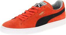 Men's Puma Suede Classic Sneaker , Cherry Tomato /Black Size 10 M US