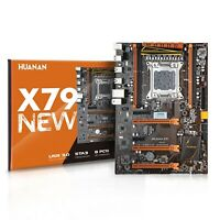 HUANANZHI X79 motherboard LGA 2011 ATX USB3.0 SATA3 PCI-E NVME M.2 support 4*16G