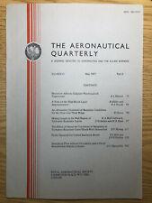 The Aeronautical Quarterly (Royal Aeronautical Society Journal) RARE May 1977