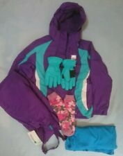 New Mountain Warehouse Ski Outfit Bundle Girls 11-12 Years, Jacket Salopettes