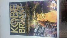 LA LAKERS SGA KOBE BRYANT wall graphic/poster 11/1/15 giveaway retirement season