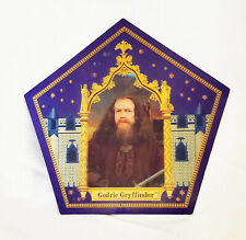 Harry Potter Chocolate Frog Card of Godric Gryffindor