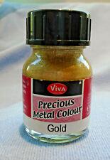 VIVA PRECIOUS METAL EFFECT PAINT - GOLD