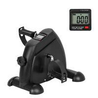 2 In 1 Mini Exercise Bike Leg Arm Machine Pedal Exercise Fitness Adjustable Gym
