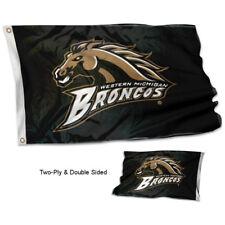 Western Michigan Broncos Banner Flag Wmu Double Sided