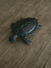 Super Cute Tiny Sea Turtle – Rubber Figurine - Reptile Collectible Home Decor