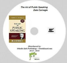The Art of Public Speaking by Dale Carnegie and Joseph Esenwein Audio Book on CD