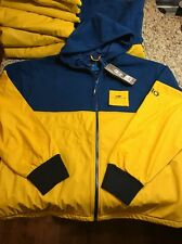 Old Harbor Outfitters OHO North Rip Full Zip Fishing Jacket Navy/Yellow XXL $120