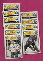 1988-89 TOPPS BUFFALO SABRES  CARD LOT  (BARRASSO+ ANDREYCHUK  ) (INV#5945)