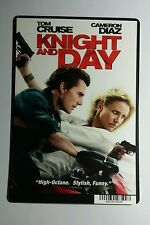 KNIGHT AND DAY TOM CRUISE CAMERON DIAZ MINI POSTER BACKER CARD (NOT a movie )