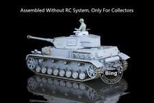 Henglong 1/16 German IV F2 Static Plastic Model Tank 3859 W/O RC System battery