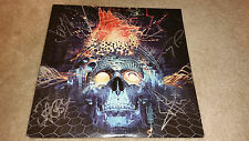 Papa Roach The Connection band autograph signed LP cover