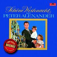 PETER ALEXANDER - SCHÖNE WEIHNACHT MIT PETER ALEXANDER (ORIGINALE)  CD NEU