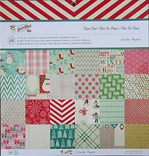 Crate Paper  [ Bundled Up!]  12 x 12 Paper Pad  Save 45%
