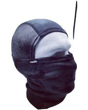 Lycra Balaclava Full Face Mask Men Women Cycling Ski Winter Black Speckle Design