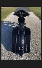 Harley Davidson Custom Saddlebags & Rear Fender Bagger Touring 1997-2013
