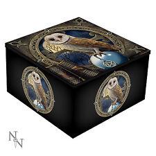 The Spell Keeper Mirror Box - Lisa Parker - Owl Bird Jewellery Trinket Master