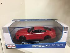 1:18 2015 Mustang GT red By Maisto