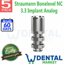 X 5 Straumann Bonelevel NC 3.3 Implant Analog