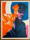 Thomas Wimberly - Serve and Project HPM 2020 - S/N /4 - like Shepard Fairey Obey