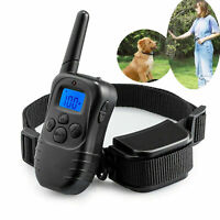 Remote Electric Shock Vibration Rainproof Pet Dog 998 Yard Training Collar